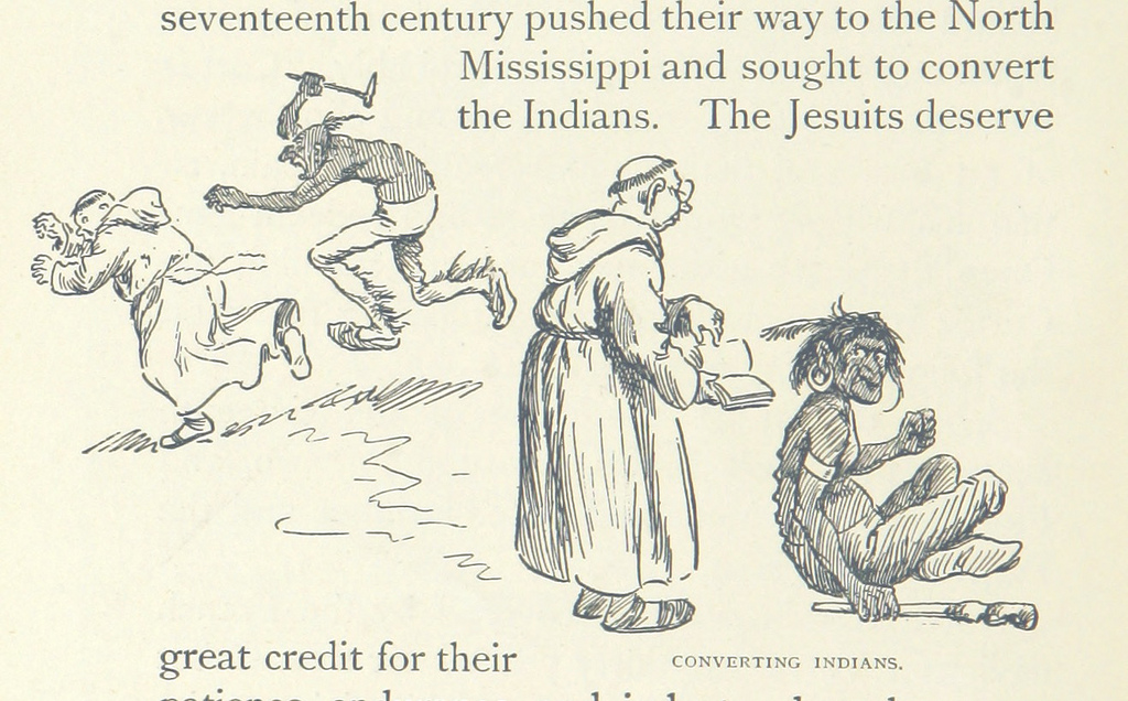 Image taken from page 34 of '[Bill Nye's History of the United States. Illustrated by F. Opper