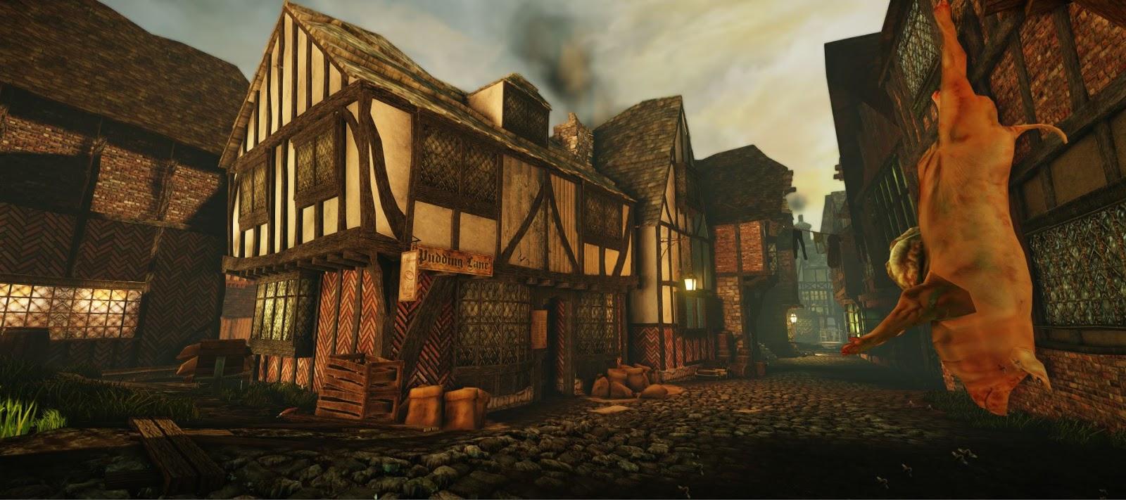 Лондон перед Великим пожаром 1666 года