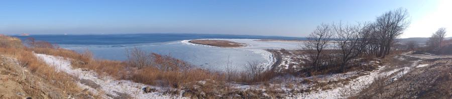 Панорама острова Русский