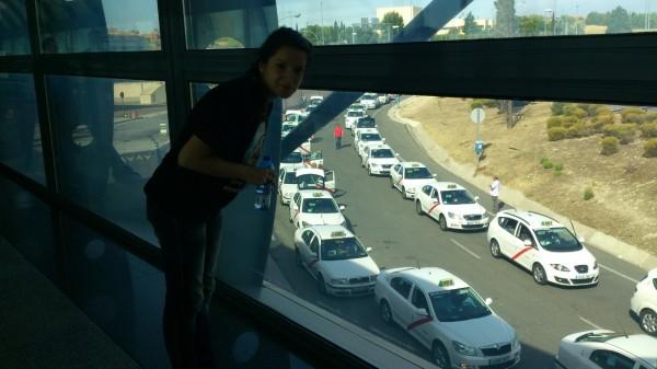 Мадридские таксисты