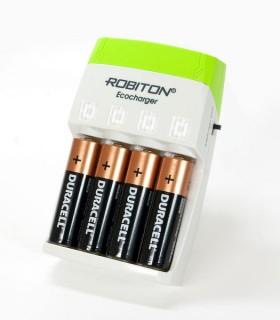Robiton Ecocharger - автозарядное устройство для аккумуляторов и обычных батареек!