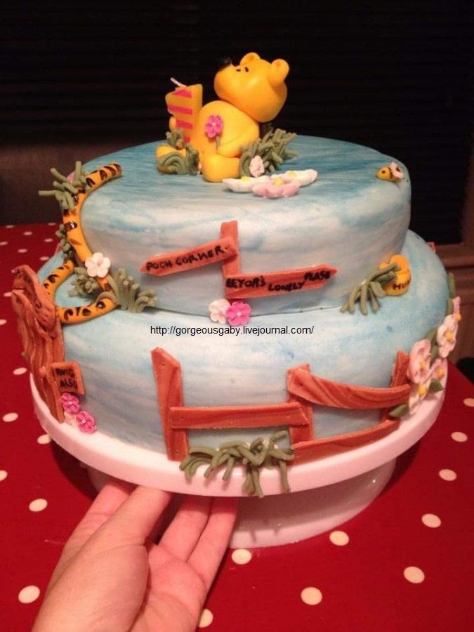 Winnie The Pooh First Birthday Cake Gorgeousgaby