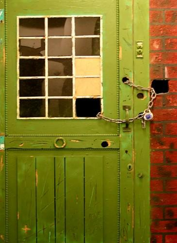 5. Burhan Doğançay - Green Door