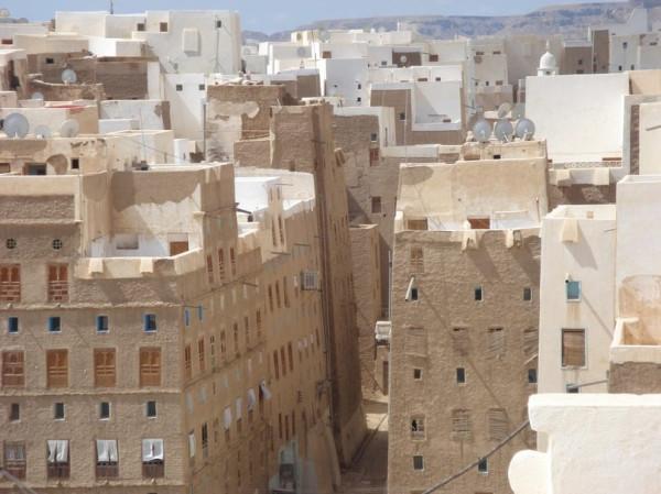 Шибам — древний город небоскребов посреди пустыни
