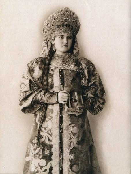 Модный русский показ в Париже 1900 года