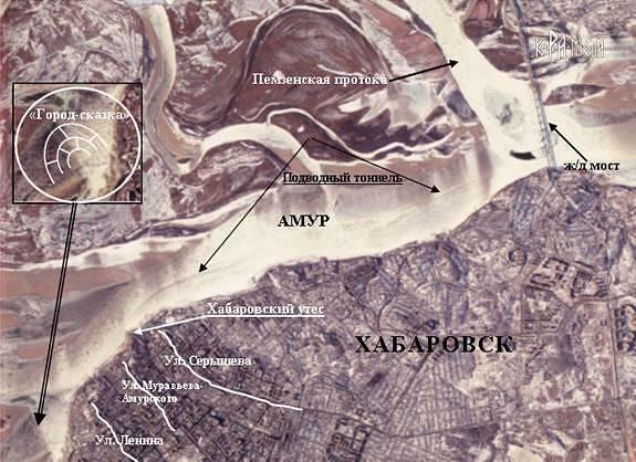 Следы древней цивилизации в амурской тайге?