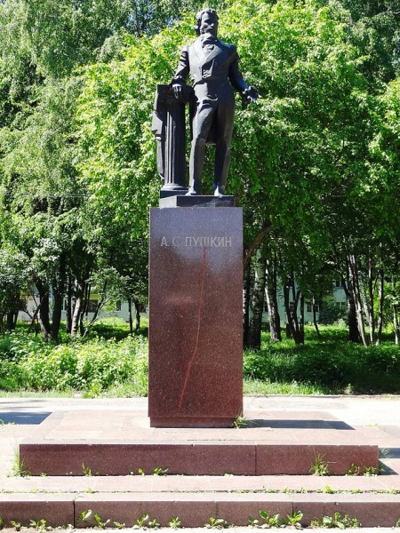 The_monument_to_Alexander_Pushkin_in_Yoshkar-Ola