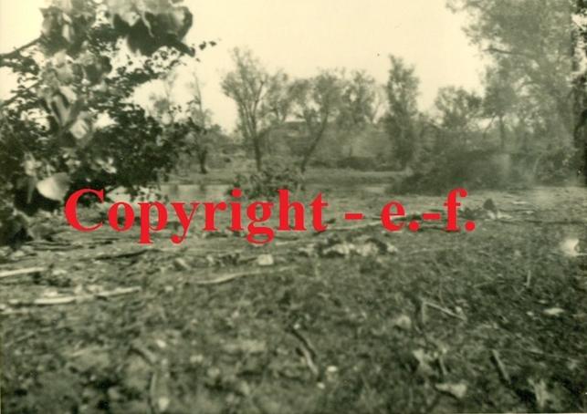 Расположение дивизиона. Вид с Волынского укрепления. Фото 1941 года.
