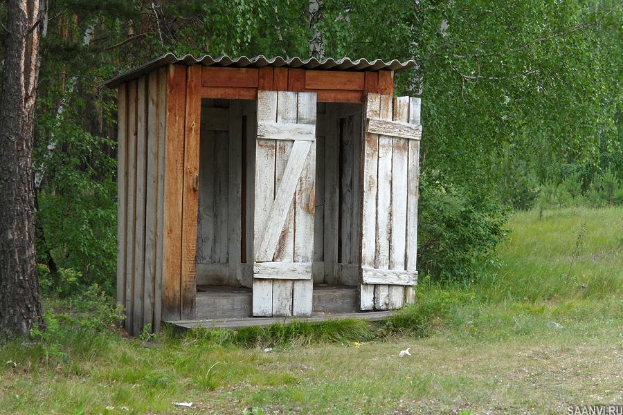Фото деревенский туалет