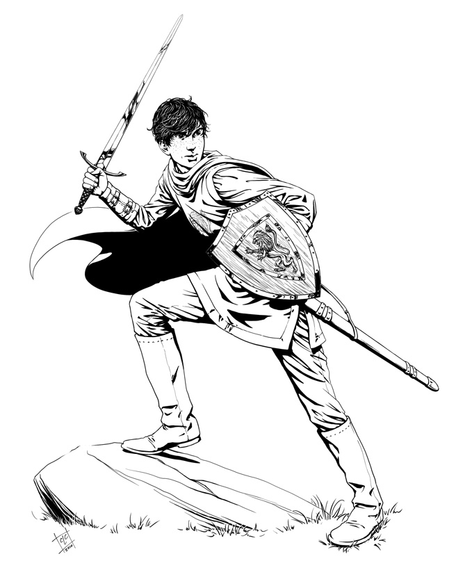 narnia coloring pages characters - photo#37