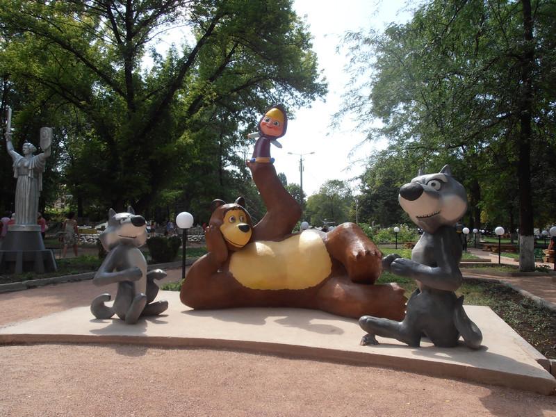 Бахчисарайский парк миниатюр 3