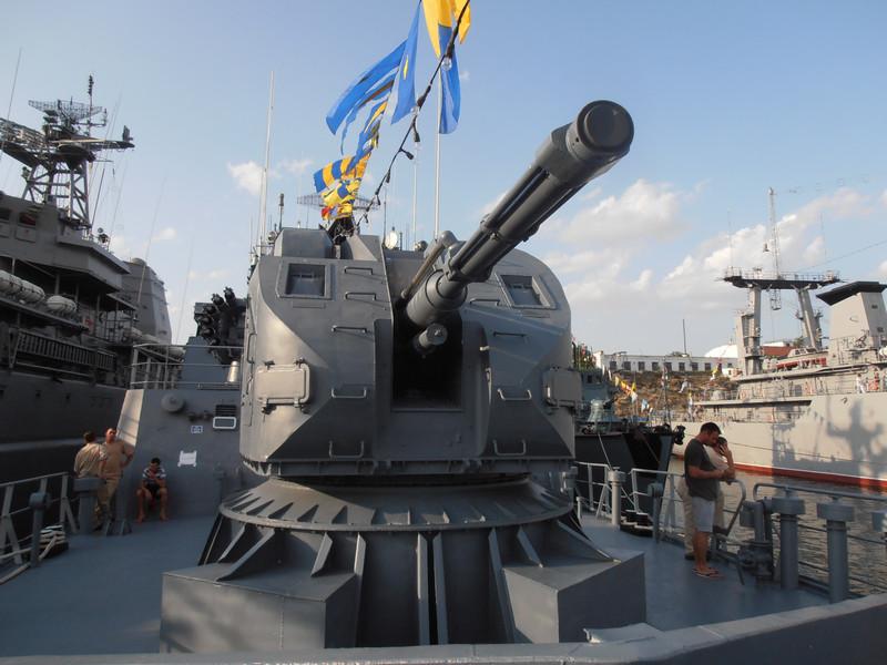 Румынский фрегат
