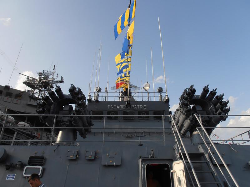 Румынский фрегат-2