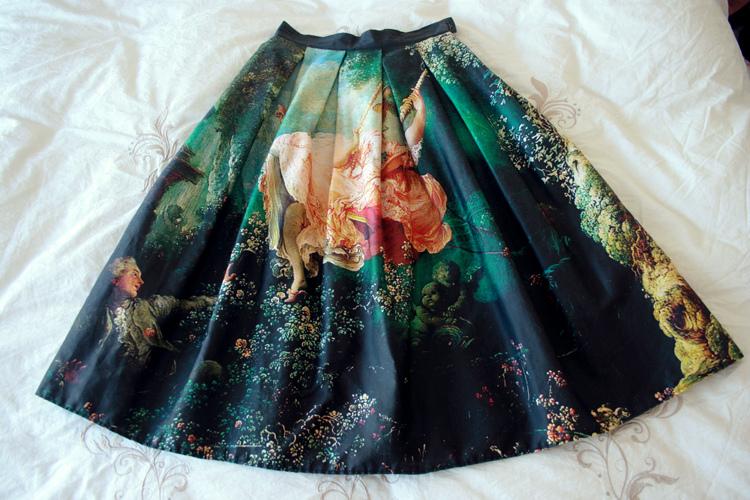 Baroque Skirt