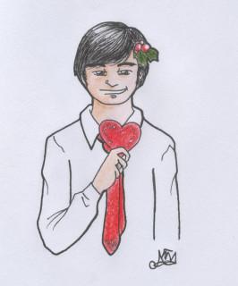 Christmas card 2008: Rod