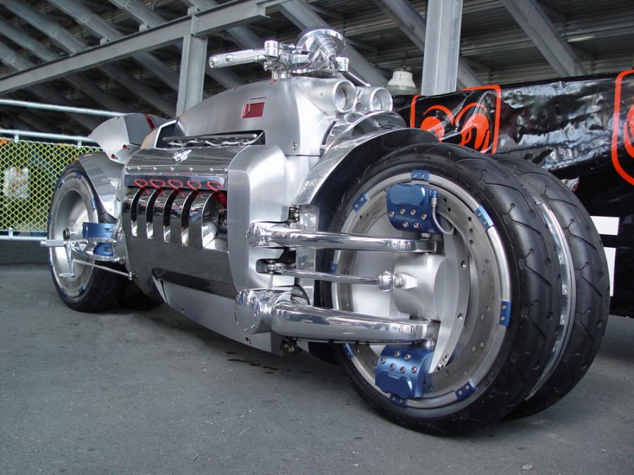 Собранный мотоцикл 4