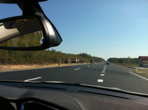 фото 22 новая автомагистраль Гомель-Минск