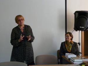 6. Н.Воробьева на встрече с читателями