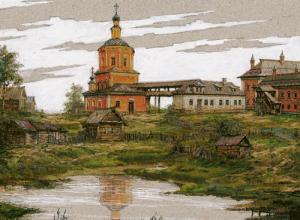 Ц. Троицы в Хохловке. Реконструкция В.А.Рябова