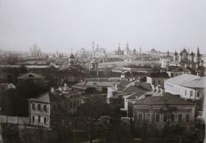 Вид от особняка Морозовых. Середина 19 века