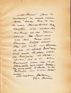Письмо Парвуса к Хенишу