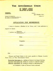 Антигерманский союз (2)
