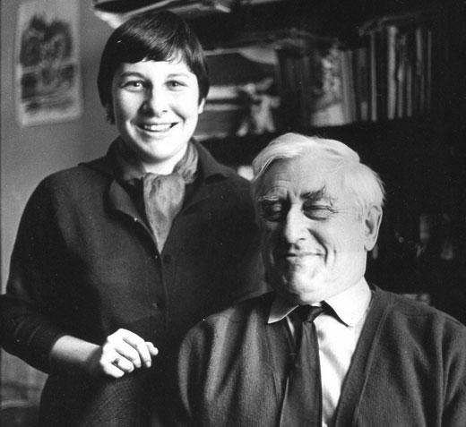 Шейла Фицпатрик и Игорь Сац