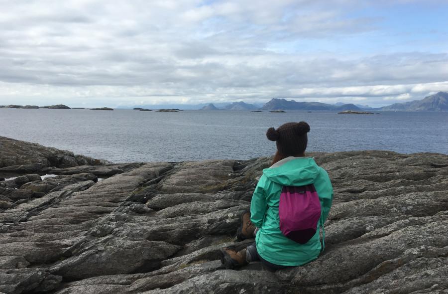 Один день из похода по Северной Норвегии