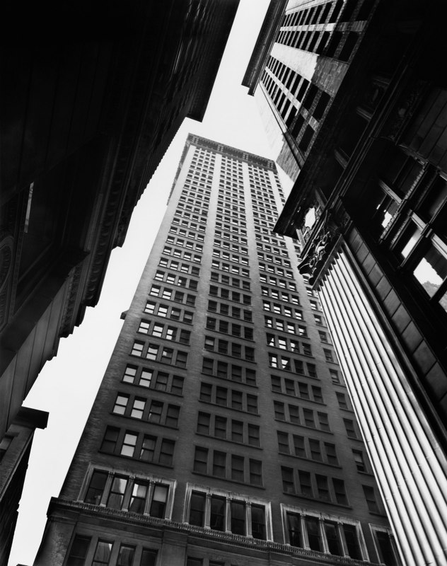 Canyon, Broadway and Exchange, New York, 1936