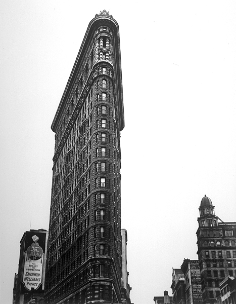 Flatiron Building, Broadway and Fifth Avenue, New York, 1938