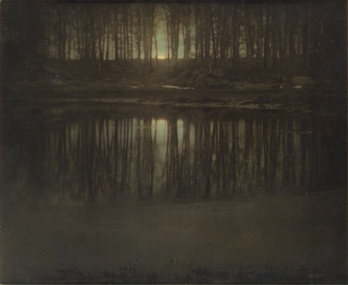 The Pond, Moonlight, 1904