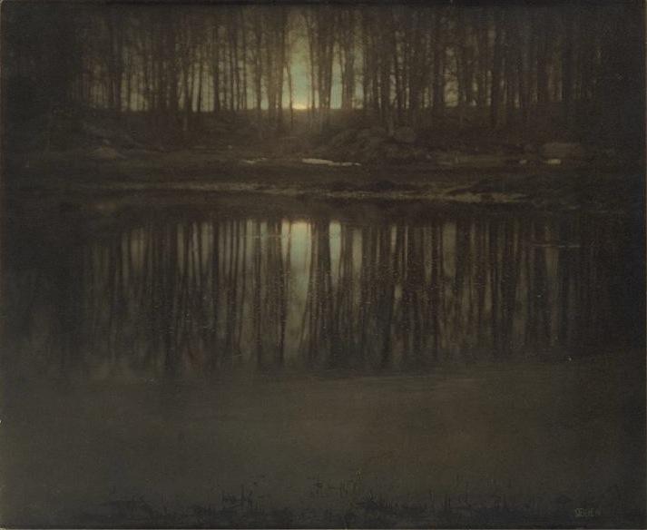 The Pond, Moonlight, 1904