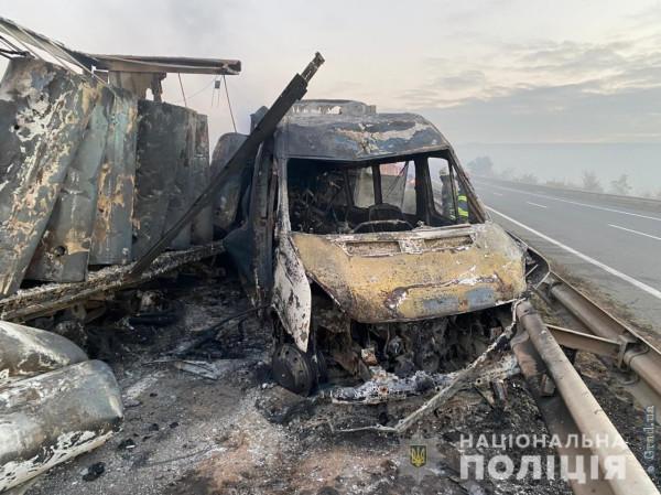 Задержан водитель причастный к масштабному ДТП на трассе Киев – Одесса