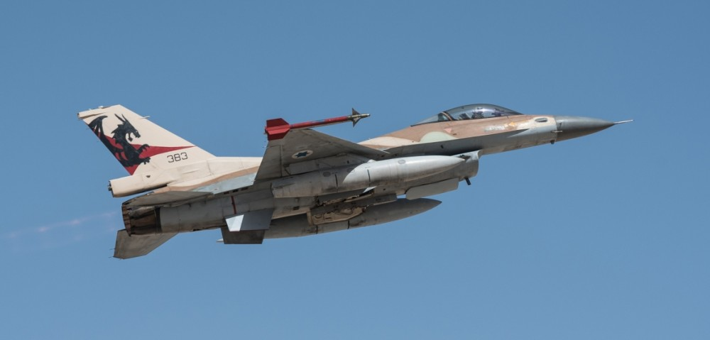 F-16 ВВС Израиля 1