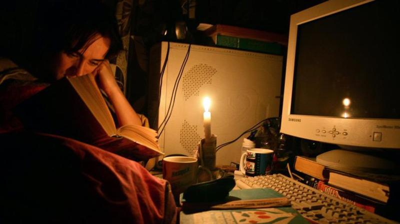 Украина без электричества
