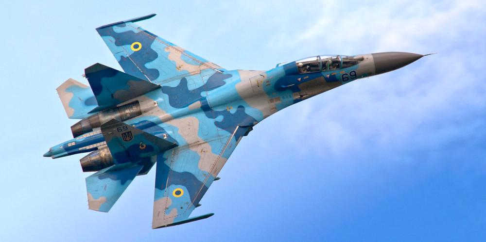Су-27УБ ВВС ВСУ