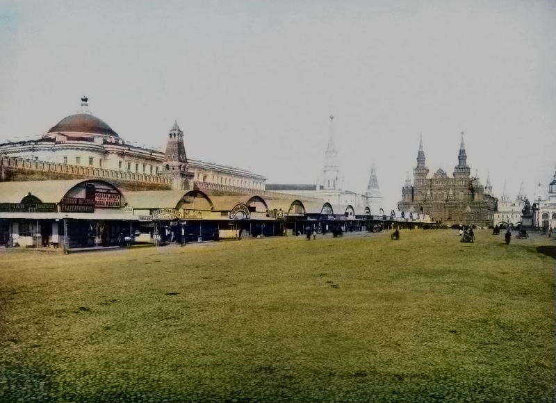 Временные торговые ряды на Красной площади