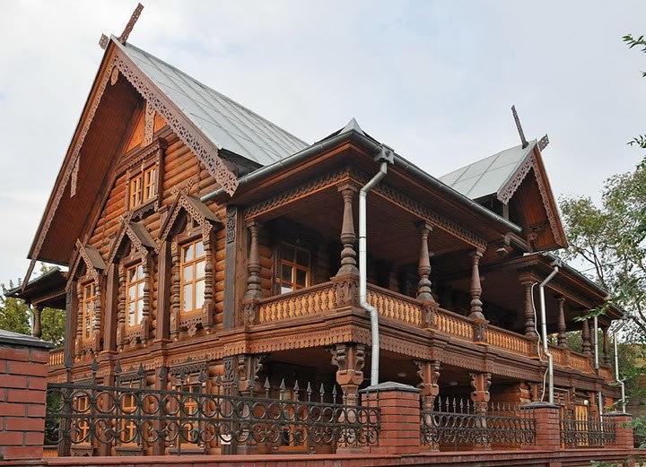 Дом купца Тетюшинова в Астрахани. 1870-е гг.
