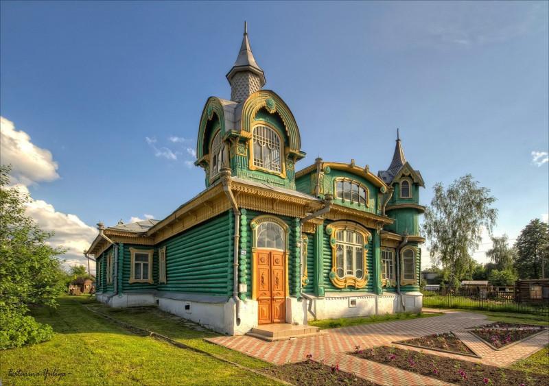 Дом Шорина, г. Гороховец. Построен в 1902 г.