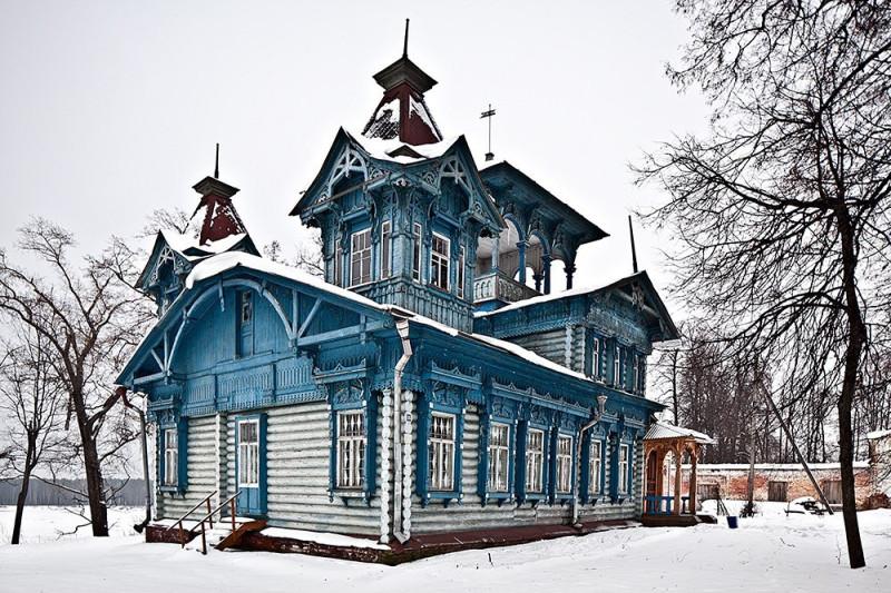 Терем стеклозаводчика С.Н. Беляева, 1905 г. Село Воскресенское, Воскресенский р-н, Нижегородская область.