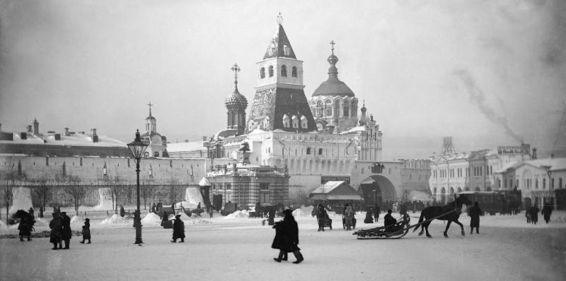Лубянская площадь. 1892 год