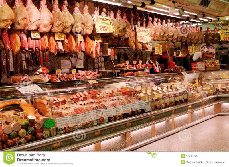 Испанский супермаркет