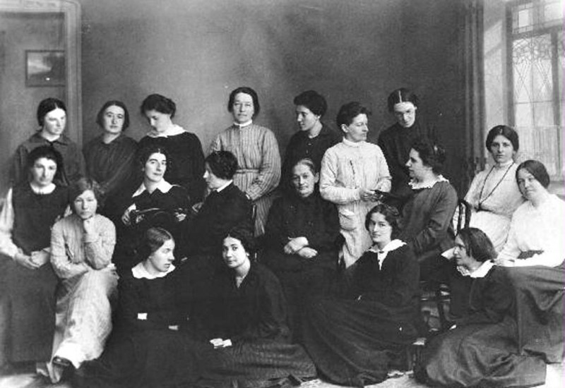 Март 1917 года. Освобожденные политкаторжанки