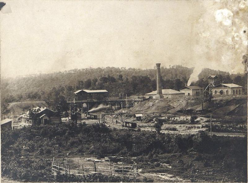 Общий вид шахты №1  1916 год