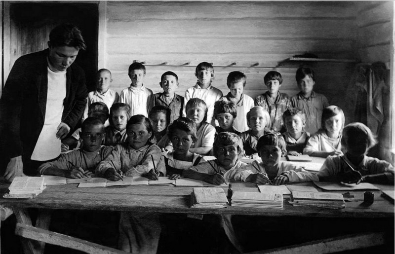 Детская школа спецпереселенцев