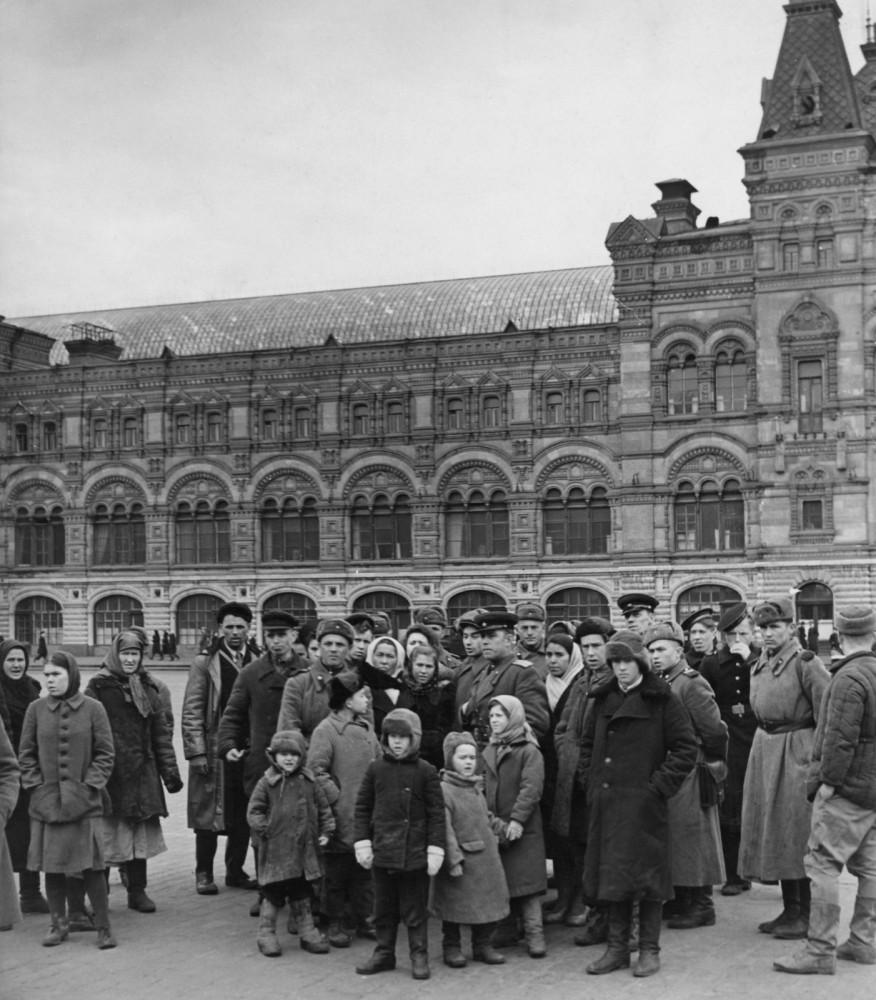 40-е годы. Москва