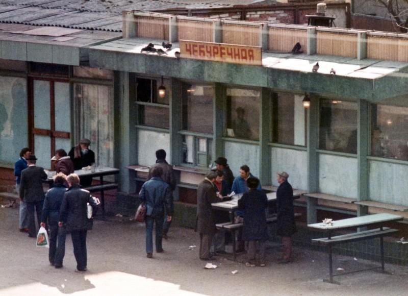 Знаменитая московская Чебуречная в центре Москвы