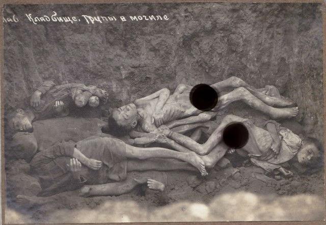 Яма для умерших от голода детей
