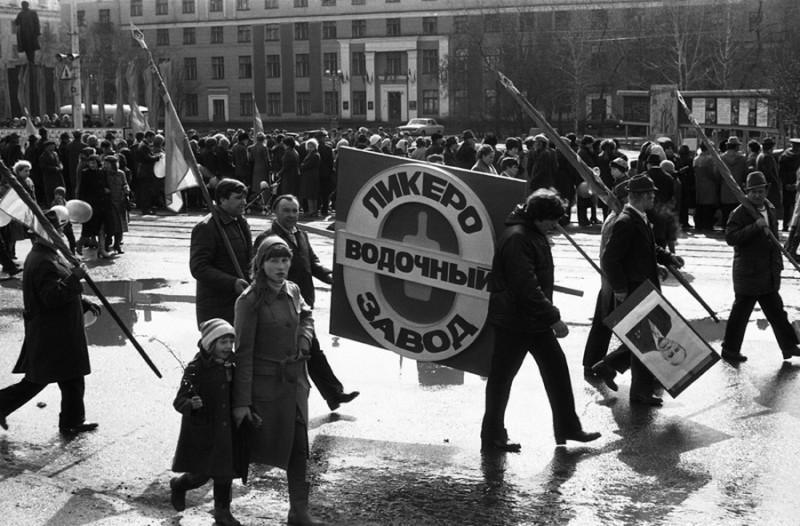 Антиалкогольная демонстрация