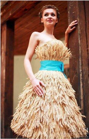Платье на конкурс осень